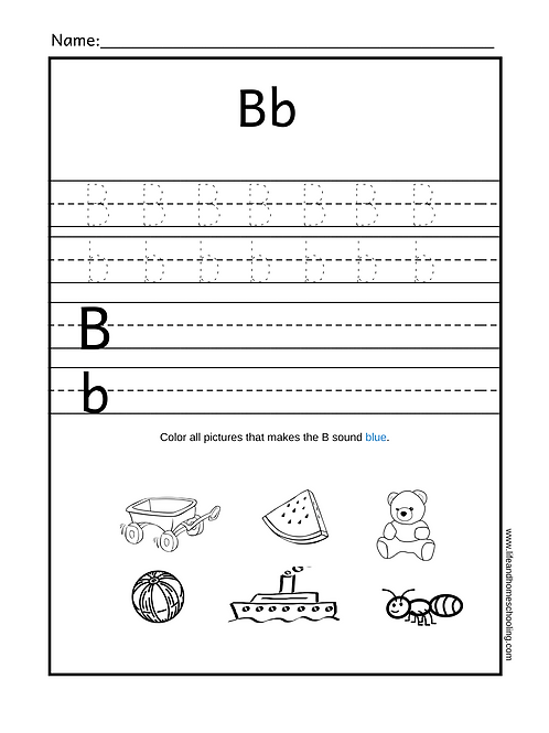 Alphabet Trace & Sound