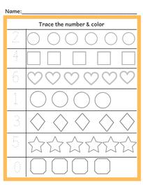 Preschool Match (Trace & Match