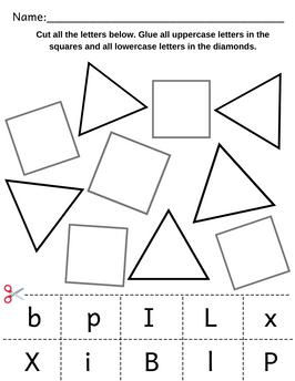 Alphabet Sorting Activity