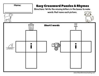 Free easy crossword puzzle