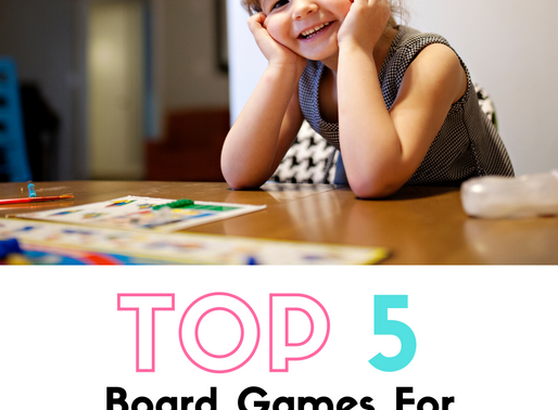 Top 5 Board Games For Homeschooling Younger Kids