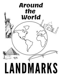 Around the World Landmark Worksheets