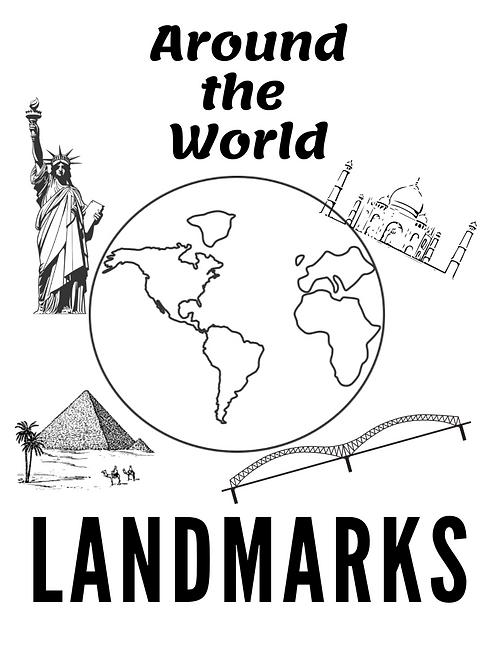 Around The World Worksheets