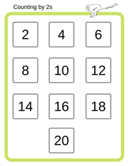 Counting by 2s
