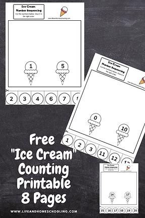 Free Preschool Math Printable