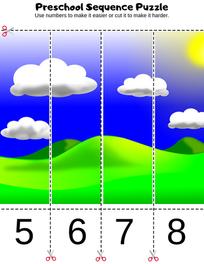 Preschool Puzzle Printable