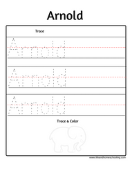 Arnold name trace