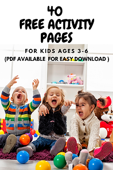 free activity pags for kids ages 3-5 _ L
