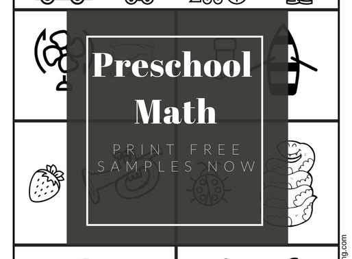 Free Preschool - Kindergarten Math Printable Worksheets ( Heavy & Light)