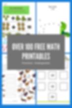 100 Free Math Printables