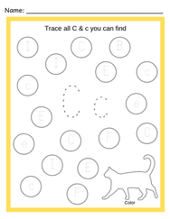 Alphabet Trace & Find