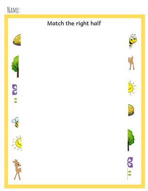 preschool matching
