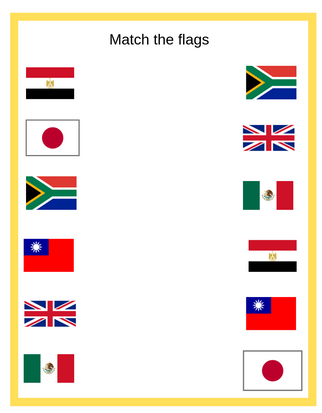 Match the Flags