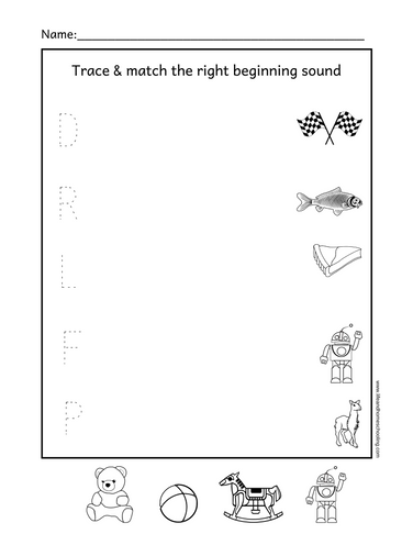 Beginning sound matching