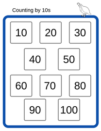 Counting by 10s
