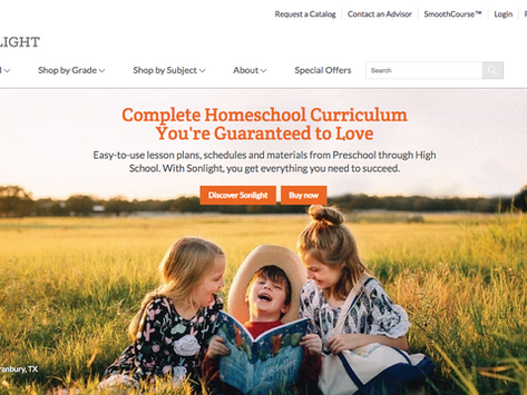 Kindergarten Christian Homeschool Curriculum Choice List
