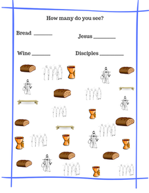 Communion Printable for Kids
