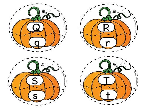 Fall Alphabet Matching