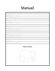 Free Name Tracing Printable