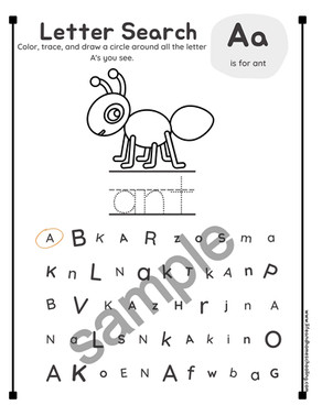 Alphabet Search & Find