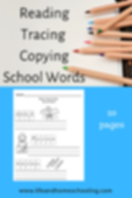 Reading Tracing Copying School Words.png