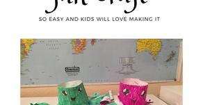 Jellyfish Kindergarten Fun Craft