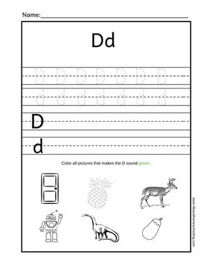 Free alphabet trace printable