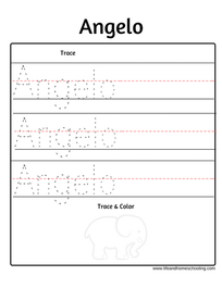 Angelo name trace
