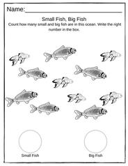 Preschool Counting Worksheet