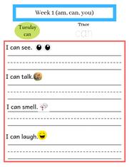 1st Grade Sight Word Worksheets