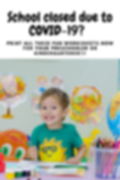 FREE worksheets for prechoolers or kindergarteners