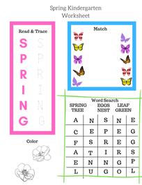 Free Spring Printable Activity
