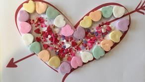 Valentine Heart Candy Craft