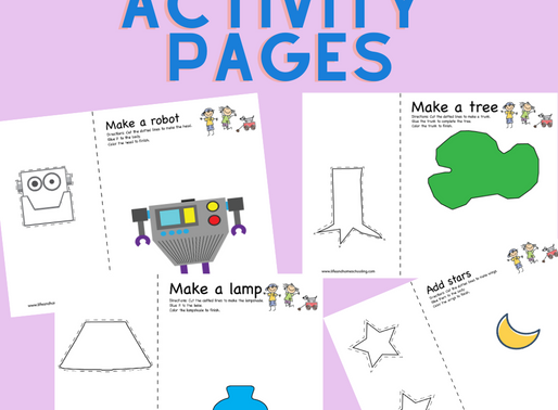 Free Scissor Cutting Skill Practice Printable Activity Pages