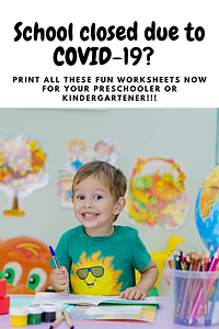 Free Kindergarten Worksheets / Life and Homeschooling
