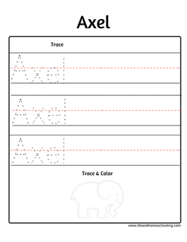 Axel name trace