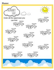 Preschool Alphabet Sort