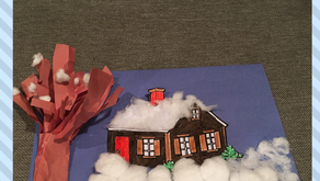 3D Kindergarten Winter Craft