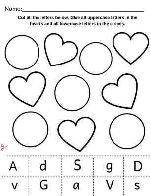Alphabet Sorting Worksheet