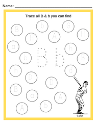 Alphabet Trace and Find