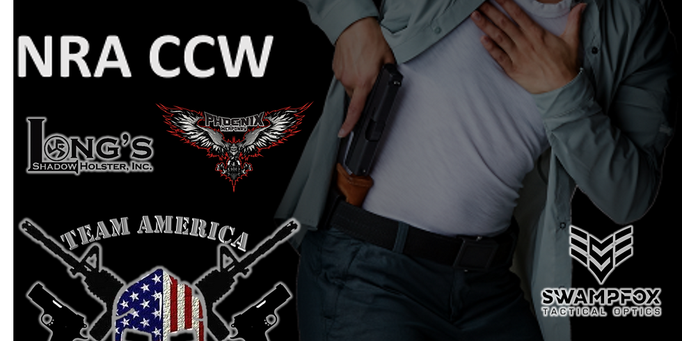 NRA CCW 2-Day Concealed Carry Class