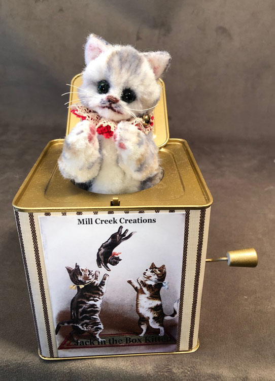 Jack in the Box Kitten