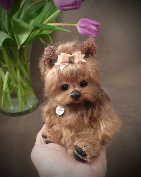 Lucy the Yorkie