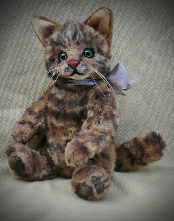 Tabby the Palm Kitten