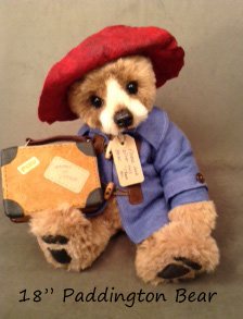 Lg Paddington Bear (