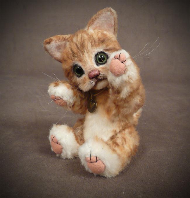 Krissy the Baby Palm Kitten