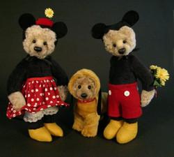 Walt Diney Auction Mickey& Minnie