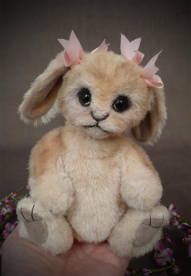 Bashful Bunny baby palm bunny