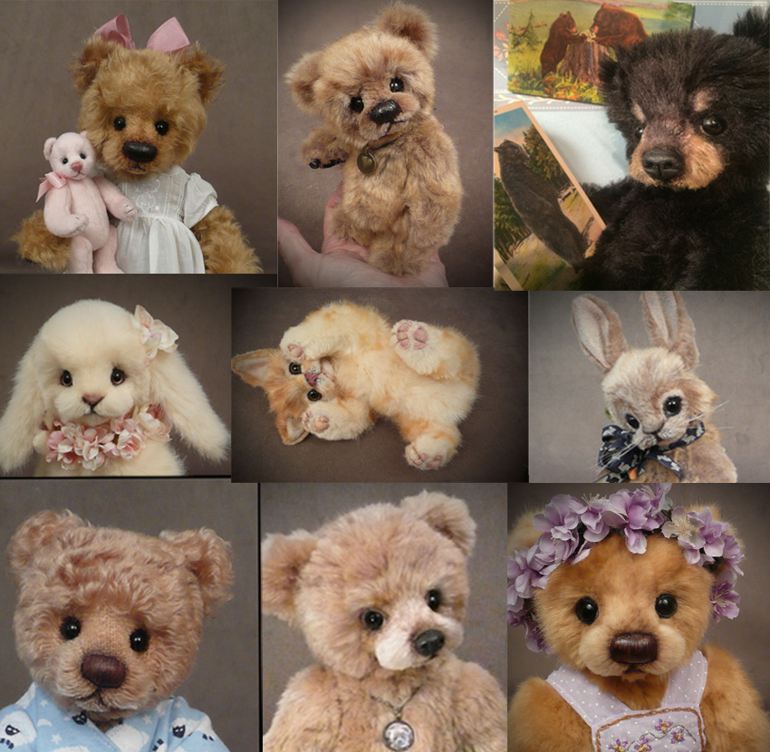 Custom order bears and furry friends