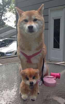 Emiko and her namesake